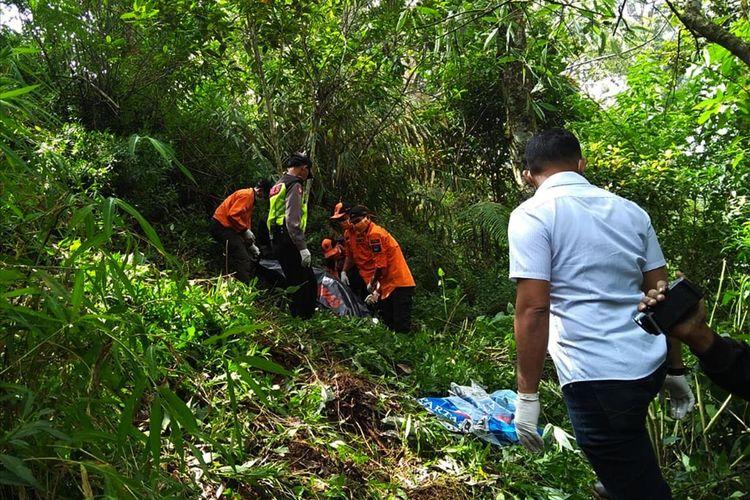 warga magetan temukan mayat pria terbungkus selimut winnie