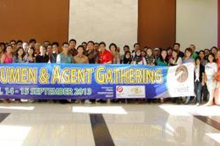 Prima Propertindo Group menggelar kunjungan ke lokasi proyek yang dibangun di Bali, yakni Agranusa Signature Villa  dan The Nest Hotel.  Rombongan pembeli dari Jakarta yang berjumlah 80 orang dibawa keliling proyek untuk melihat langsung proyek menelan investasi sebesar Rp 130 miliar tersebut, Sabtu (15/9/2013).