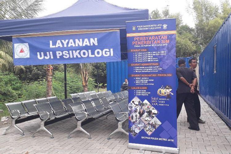 Pemohon Sim Di Banten Wajib Tes Psikotes