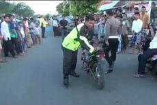 Bubarkan Balapan Liar, Polisi Amankan Puluhan Motor yang Ditinggal Kabur Pemiliknya