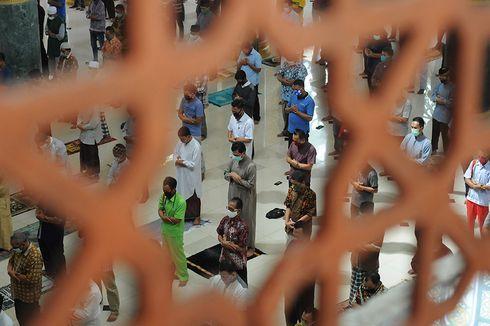 Kemenag Minta Pengurus Masjid Antisipasi Terjadinya Penumpukan Jemaah