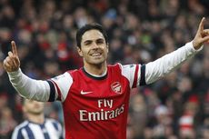 Tottenham Vs Arsenal, Momen Terbaik Arteta di Derbi London Utara