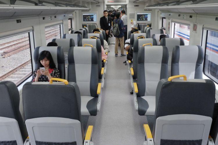 Gerbong KA Bandara Soekarno Hatta