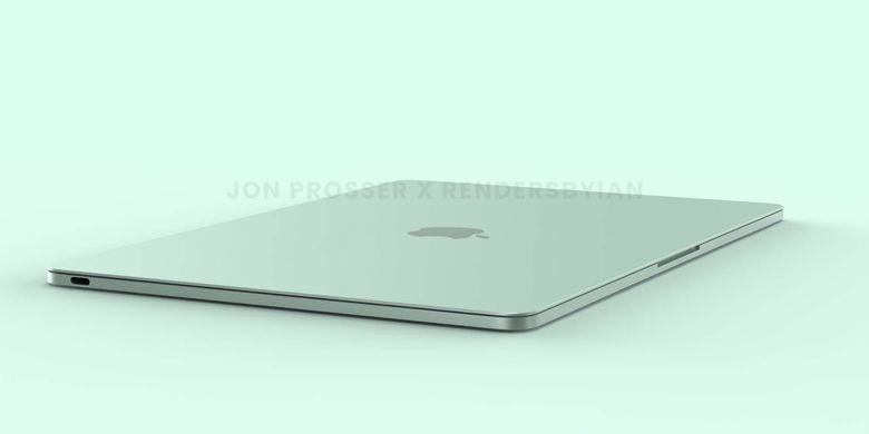 Bocoran desain Apple MacBook Air terbaru