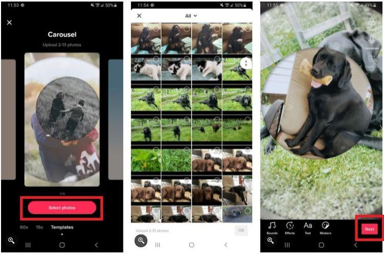 Cara membuat slide foto di aplikasi TikTok