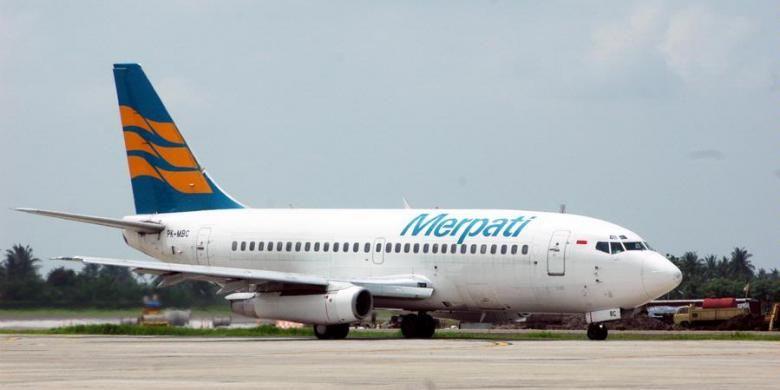 Merpati Nusantara Airline.