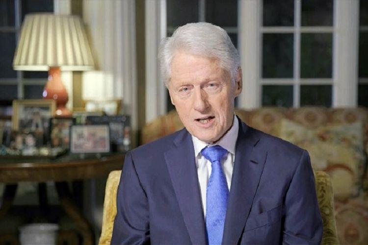 Mantan Presiden Amerika Serikat Bill Clinton menyampaikan dukungan kepada capres Partai Demokrat Joe Biden pada hari kedua Konvensi Nasional Partai Demokrat yang digelar virtual, Selasa malam (18/08/2020)