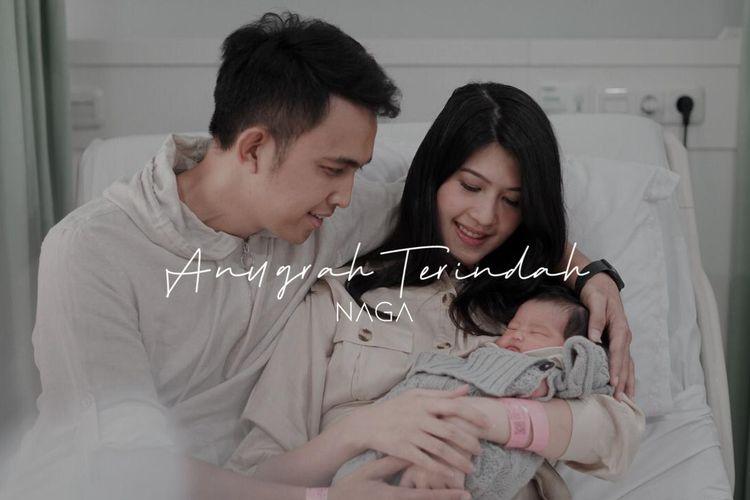 Poster lagu 'Anugerah Terindah'. (Dokumentasi Narasumber).
