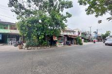 BERITA FOTO: Penampakan Rumah di Tengah Jalan Raya di Batuceper, Menjorok 6 Meter ke Jalan