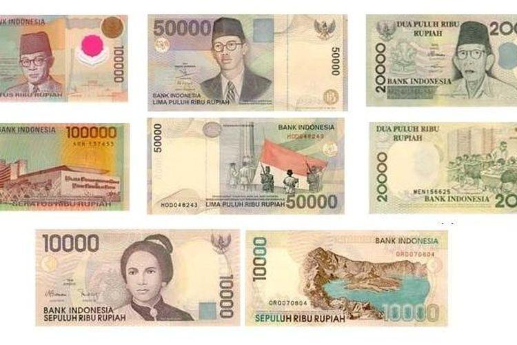 Empat pecahan uang kertas tahun emisi 1998 dan 1999 yang sudah tidak berlaku dapat menukarkan di Bank Umum paling lambat 30 Desember 2013.