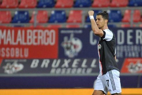 VIDEO - Tendangan Cristiano Ronaldo ke Tengah, Kiper Lawan