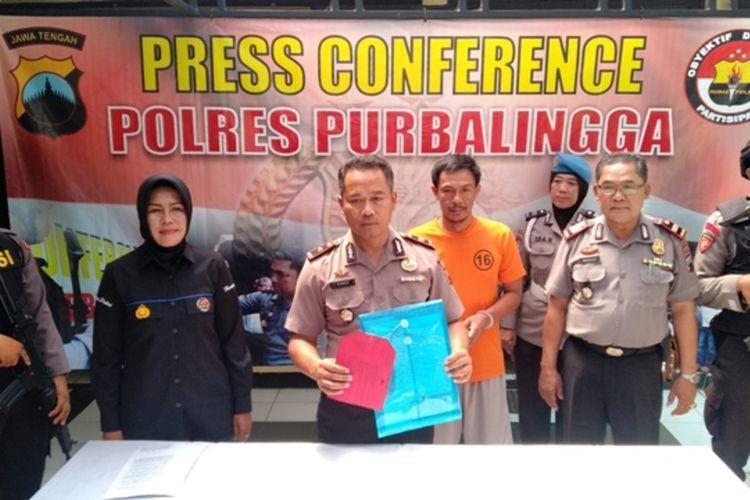 Wakapolres Purbalingga Kompol Widodo Ponco Susanto.