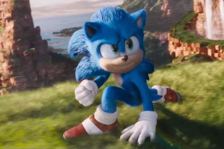 Tampilan baru Sonic the Hedgehog usai direvisi.