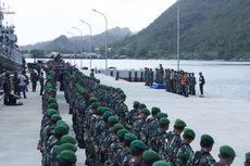 5 KRI dan 600 Prajurit TNI Siaga Amankan Perairan Natuna
