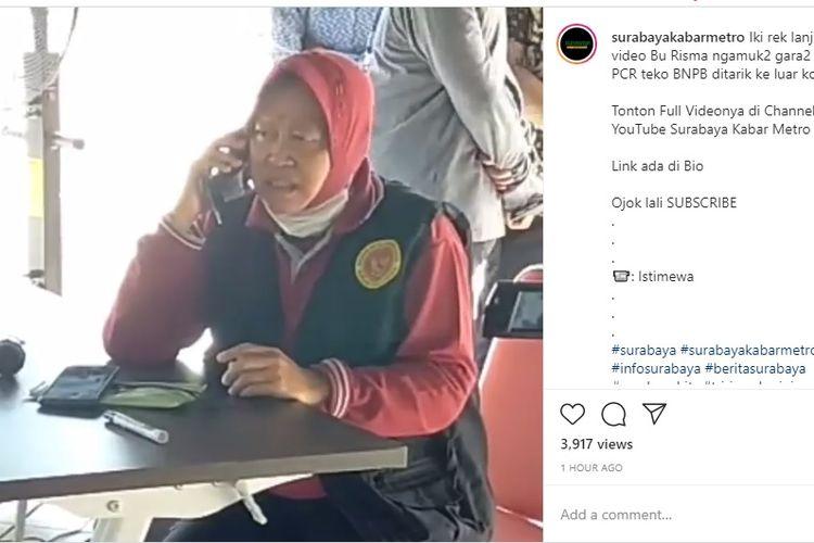 Wali Kota Surabaya Tri Rismaharini nik pitam saat mengetahui dua mobil PCR dari Badan Nasional Penanggulangan Bencana (BNPB) yang sedianya diperbantukan khusus untuk Kota Surabaya, ternyata dialihkan ke daerah lain oleh Gugus Tugas Percepatan Penanganan Covid-19 Jawa Timur.