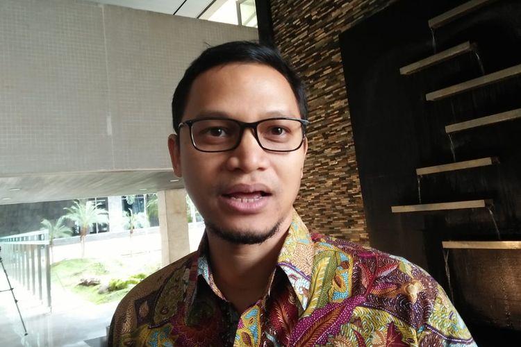 Wakil Ketua Umum PAN, Hanafi Rais di Kompleks Parlemen, Senayan, Jakarta, Jumat (19/7/2019)