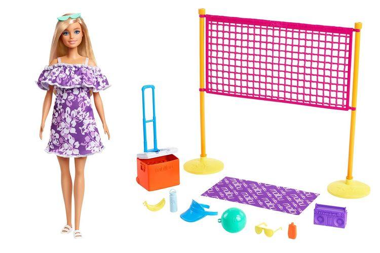 Koleksi Barbie Loves the Ocean yang terbuat dari plastik daur ulang.