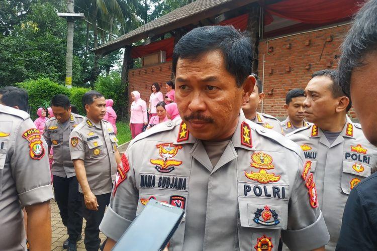 Kapolda Metro Jaya, Irjen Nana Sudjana di Hotel Bumi Wiyata, Depok, Jawa Barat, Kamis (13/2/2020).