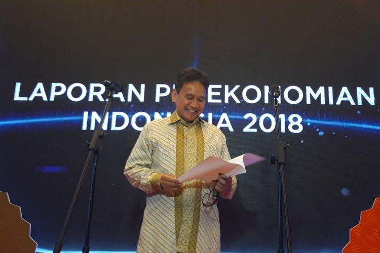 Deputi Gubernur Bank Indonesia (BI) Mirza Adityaswara di Jakarta, Rabu (27/3/2019).