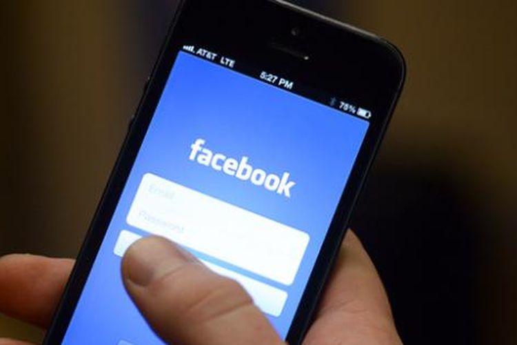 Ilustrasi Facebook mobile