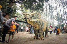 Mojosemi Dinosaurus Park, Rumah Dinosaurus di Kaki Gunung Lawu