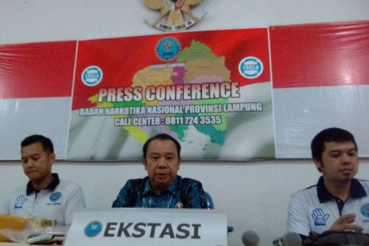 BNNP Lampung berhasil menggagalkan peredaran 6 kilogram sabu untuk diedarkan di Lampung.