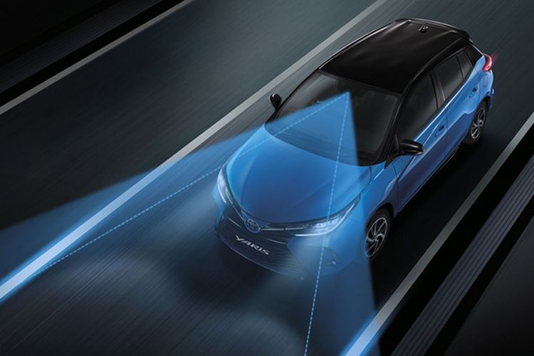 Toyota Yaris Facelift sudah mengusung fitur keamanan Toyota Safety Sense