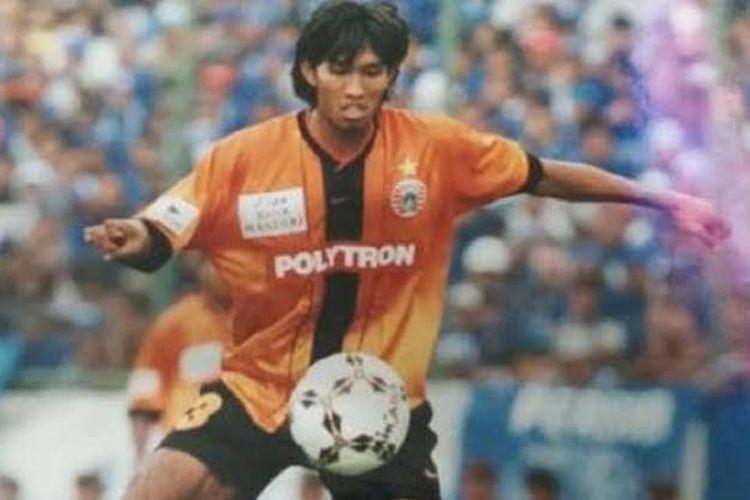 Mantan pemain Persija Jakarta dan timnas Indonesia, Budi Sudarsono.