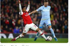 Arsenal Vs Leeds United, Gol Reiss Nelson Bawa The Gunners Lolos