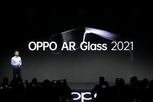 Oppo Bikin Kacamata AR Glass 2021, Ini Kemampuannya