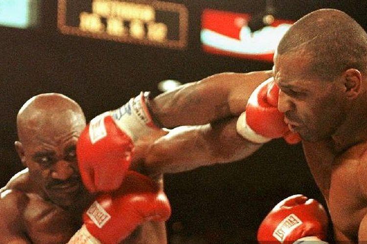 Evander Holyfield vs Mike Tyson, 28 Juni 1997.