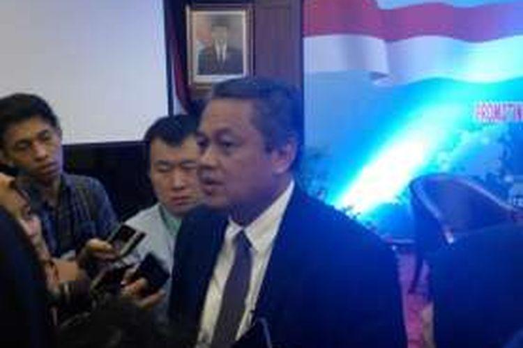 Deputi Gubernur Bank Indonesia (BI) Perry Warjiyo di Jakarta, Senin (8/8/2016).