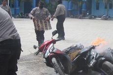 Pesantren Diserang, Satu Masjid dan 41 Motor Dirusak