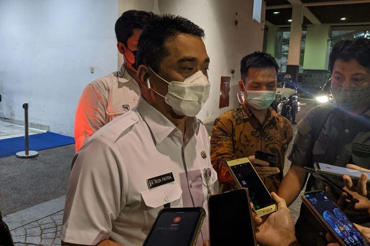 Wakil Gubernur DKI Jakarta Ahmad Riza Patria dimintai keterangan soal aksi terorisme di Mabes Polri, Rabu (31/3/2021).