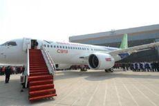 China Tampilkan Pesawat Penumpang Tandingan Boeing dan Airbus