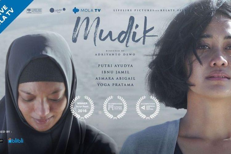Poster film Mudik. (Dokumentasi Narasumber).