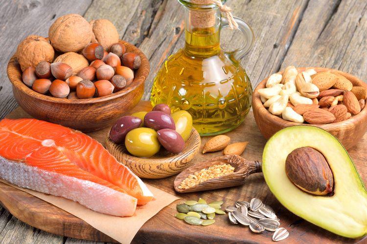 Makanan yang menjadi Sumber lemak sehat