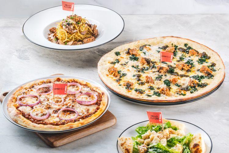 Pizza berbahan nabati dari Pizza Marzano