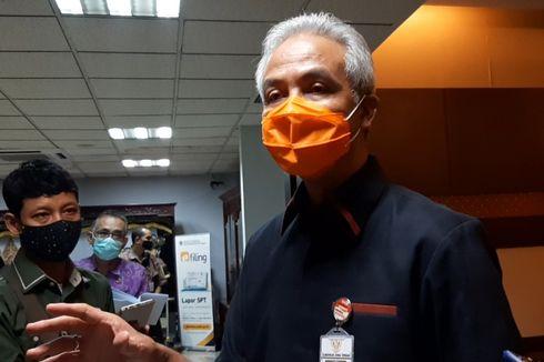 Jumlah Kasus Harian Covid-19 Jateng Tertinggi di Indonesia, Begini Respons Ganjar...