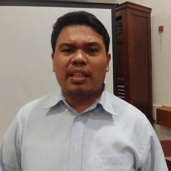 Aktivis ICJR Erasmus Napitupulu di Jakarta, Kamis (2/11/2017).
