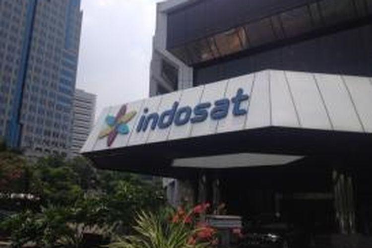 Kantor pusat Indosat di Jalan Medan Merdeka Barat, Jakarta