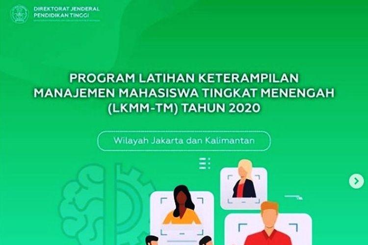 Berikut ini persyaratan program LKMM-TM 2020.