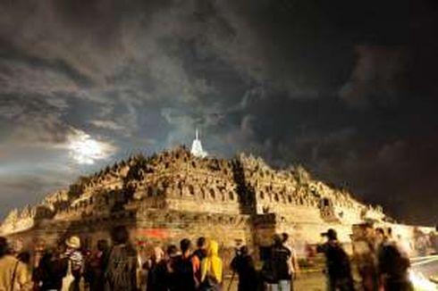 Waktu Berkunjung di Atas Candi Borobudur Akan Dibatasi