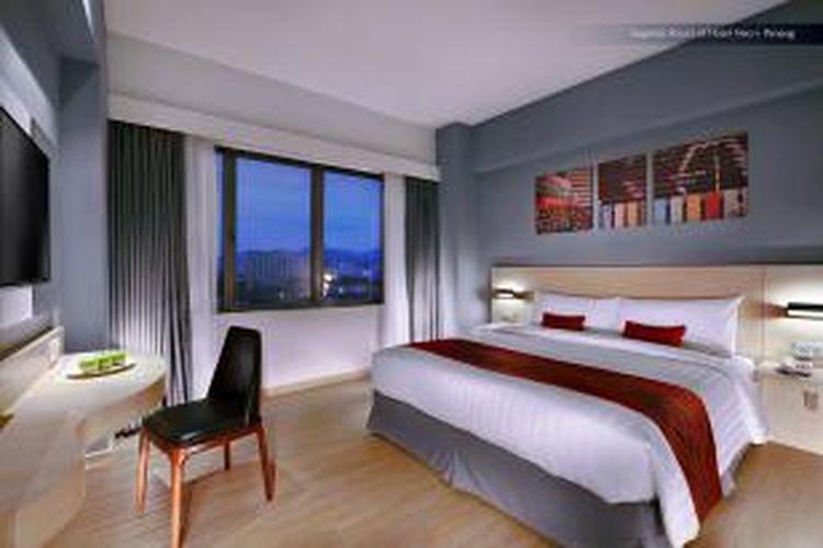 Kamar di Hotel Neo  Penang-Malaysia.