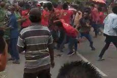 Redam Bentrokan Massa Pendukung Pilkades, Ibu-ibu Teriak