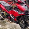 Modifikasi Yamaha MX-King Bergaya Ducati V4S