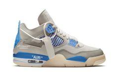 Ini Tampilan Pertama Air Jordan x Off-White 4 Military Blue