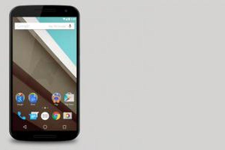Mockup Google Nexus 6