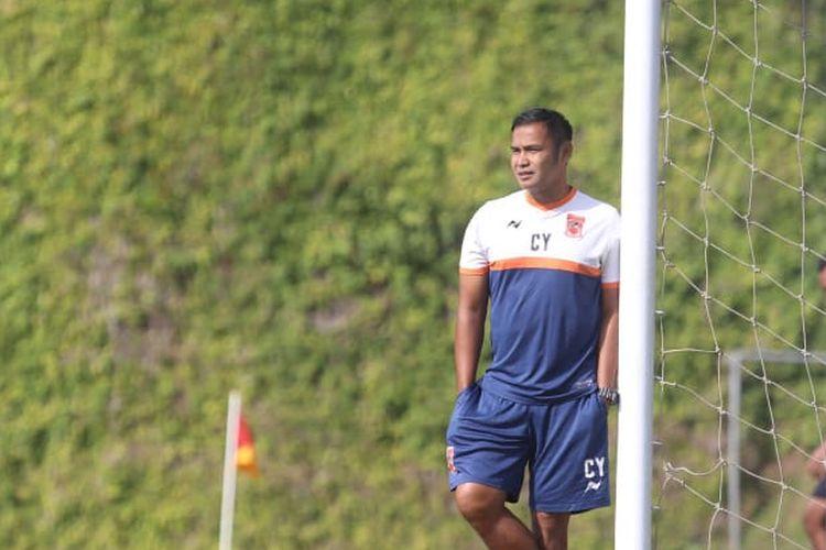 Mantan pemain Timnas Indonesia yang bergabung dengan Borneo FC di Liga 1 2019, Charis Yulianto.