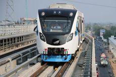 Setahun Beroperasi, LRT Palembang Layani 2 Juta Penumpang